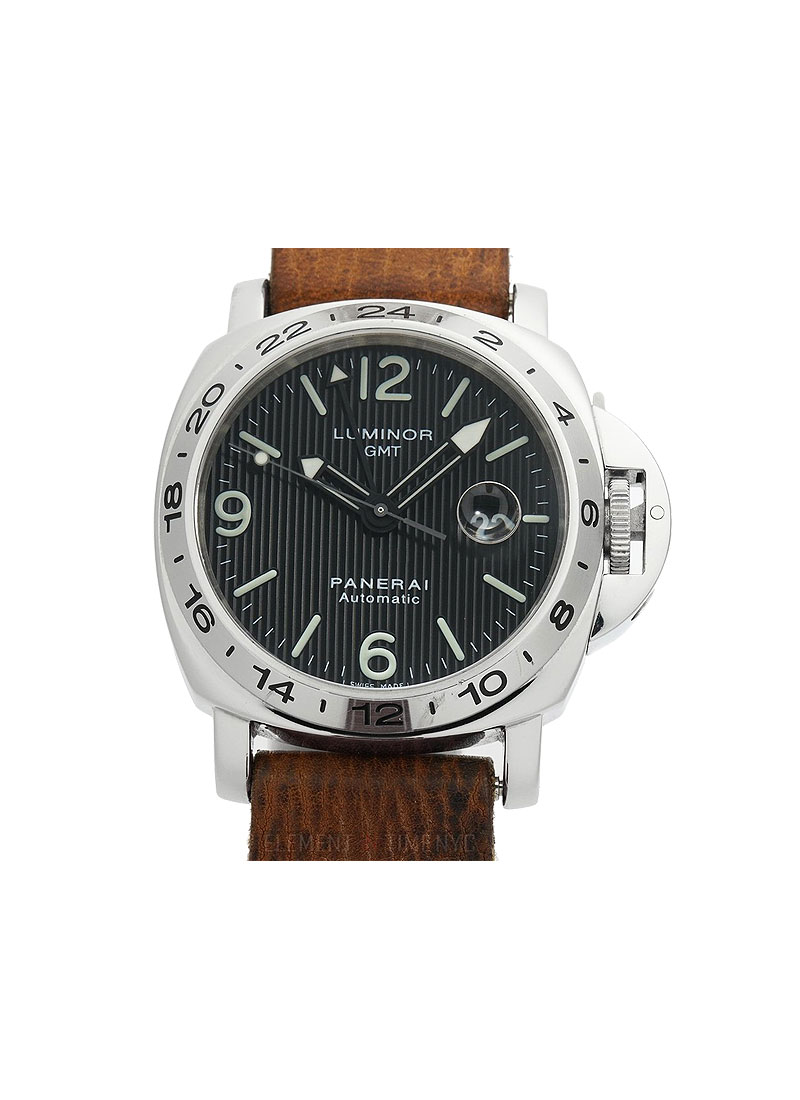 Panerai  PAM 29 - Luminor GMT in Steel