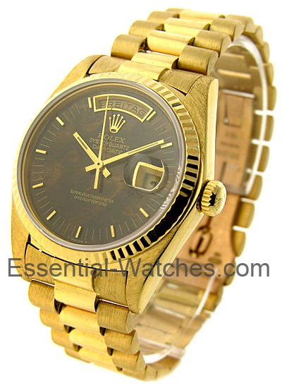 Rolex Used Day-Date - President - Yellow Gold - Fluted Bezel - 36mm