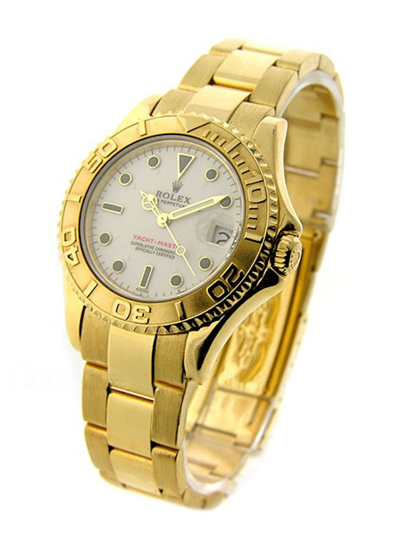 Rolex Used Yacht-master Mid Size 35mm in Yellow Gold