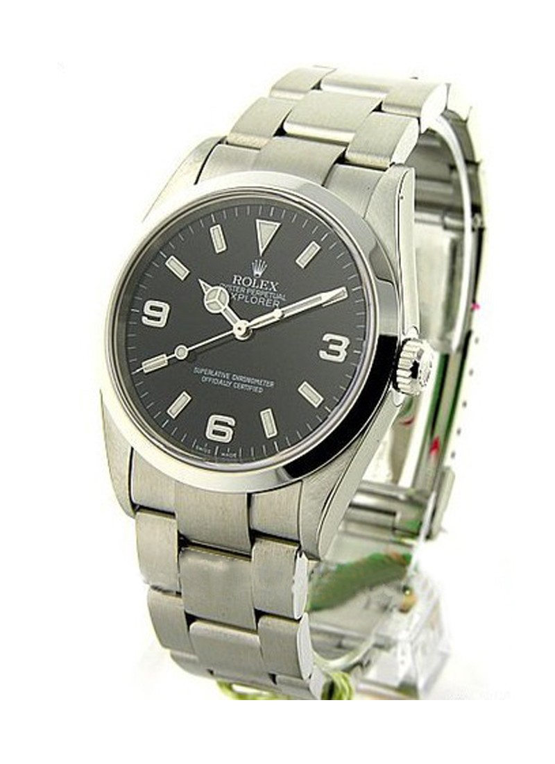 Pre-Owned Rolex Explorer I 36mm - Steel