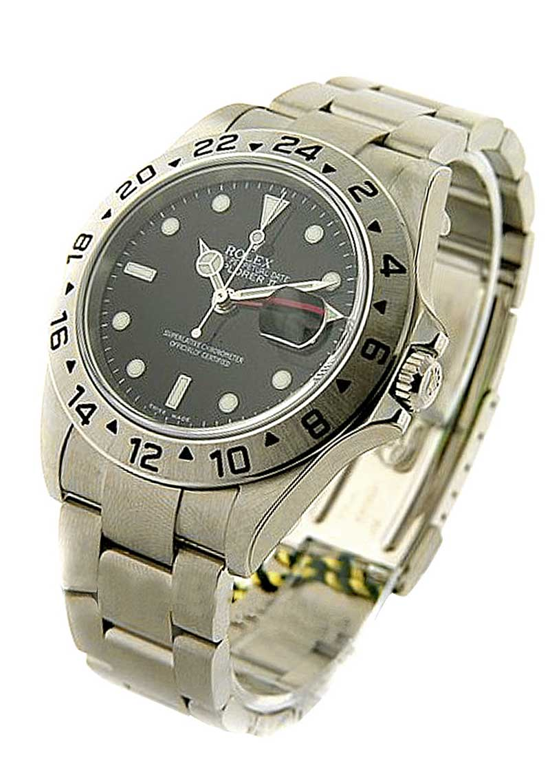 Rolex Used Explorer II in Steel