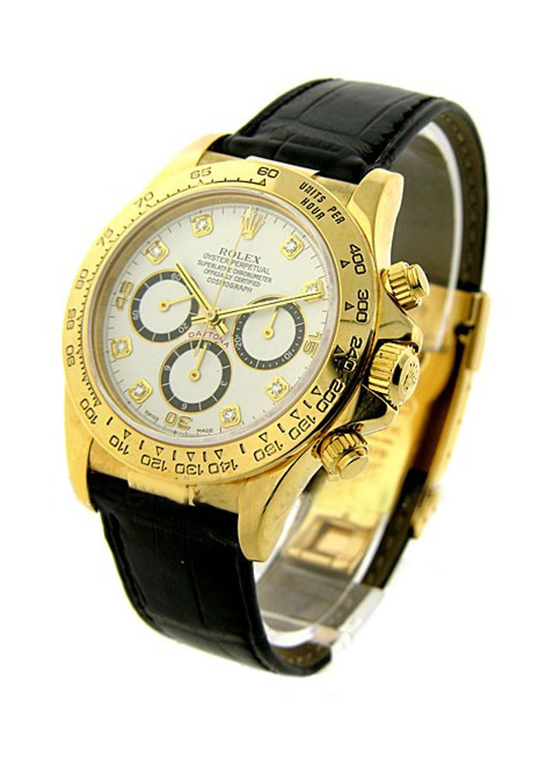 Rolex Used Daytona in Yellow Gold
