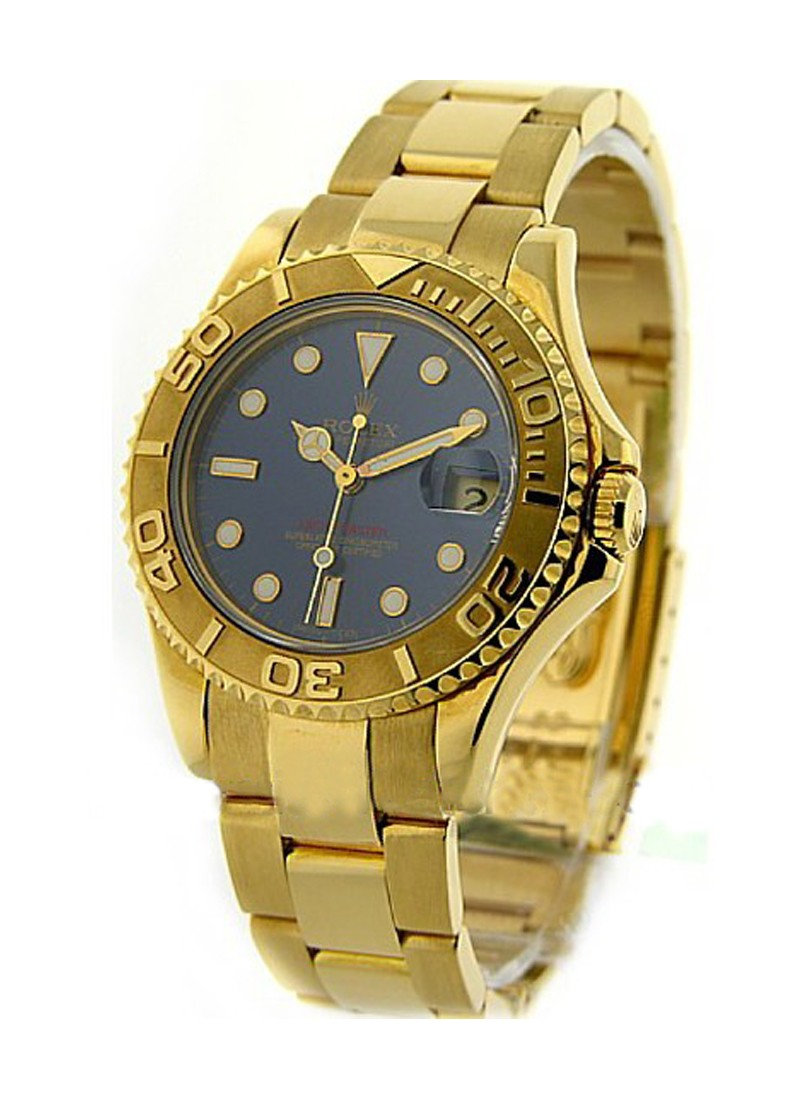 Rolex Used Yacht-Master Mid Size in Yellow Gold