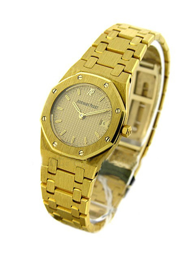 Audemars Piguet Royal Oak Lady's in Yellow Gold