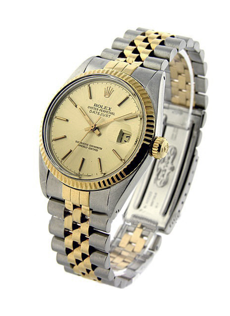 Rolex Used Datejust 2-Tone 36mm with Fluted Bezel