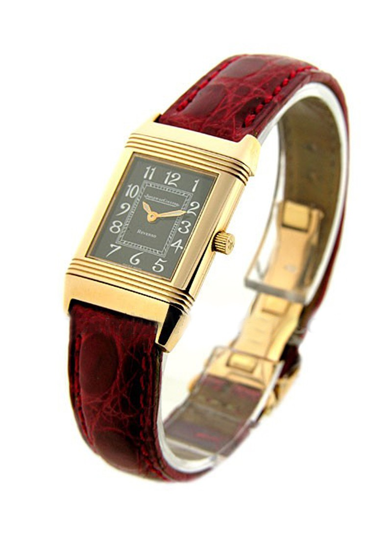 Jaeger - LeCoultre Ladys Classique Reverso in Roe Gold