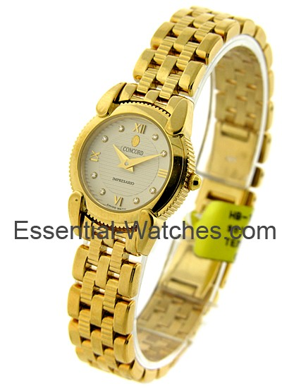 Concord Lady's Yellow Gold Impressario