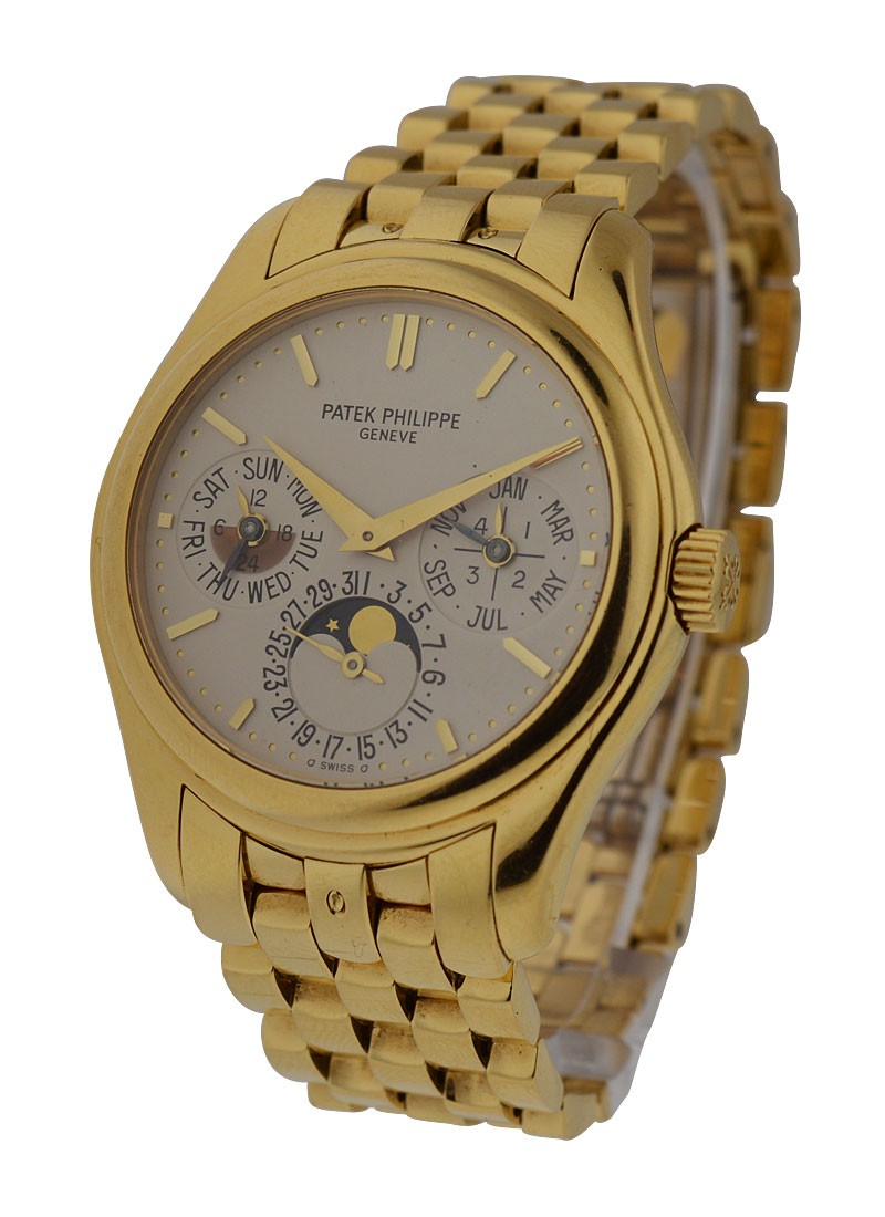Patek Philippe Perpetual Calendar 5136 on Yellow Gold