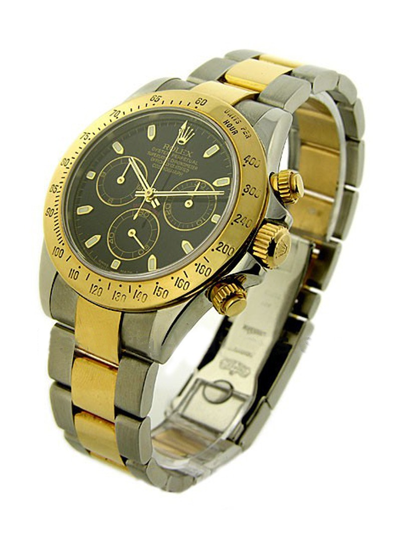 Pre-Owned Rolex Daytona Rolex Movement 2-Tone