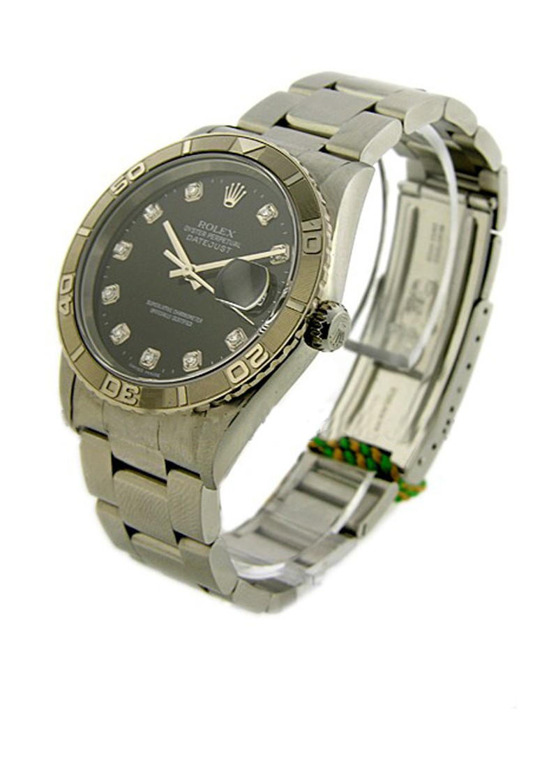 Rolex Used Datejust in Steel with Turn-O-Graph Bezel