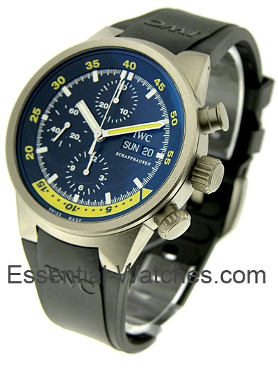 IWC Aquatimer Chronograph in Titanium