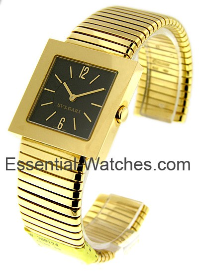 Bvlgari Square Tubogas Yellow Gold