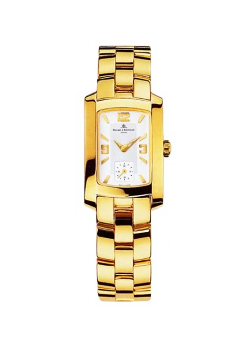 Baume & Mercier Hampton Quartz Ladies in Yellow Gold