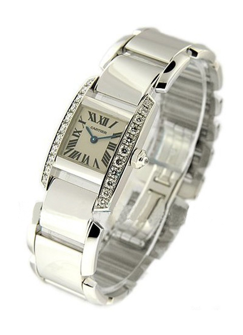Cartier Tankissime - Mid Size in White Gold