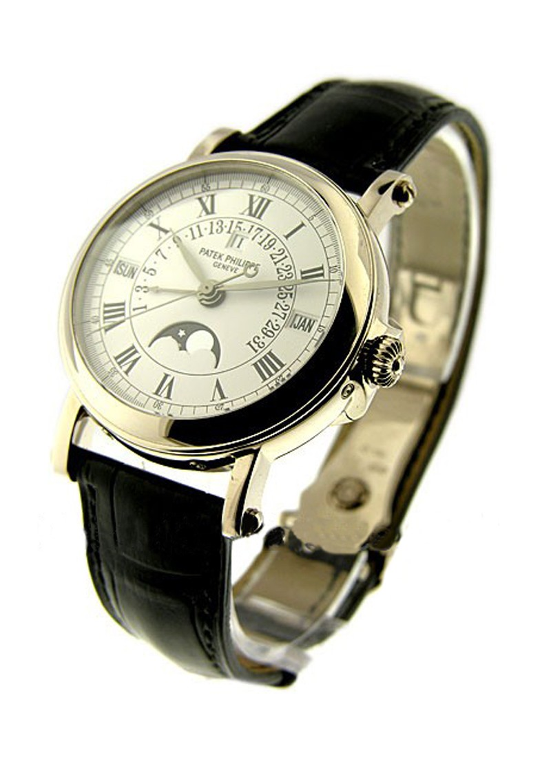 Patek Philippe 5059G Retrograde Perpetual Calendar in White Gold
