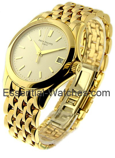 Patek Philippe Calatrava 5107 37mm in Yellow Gold