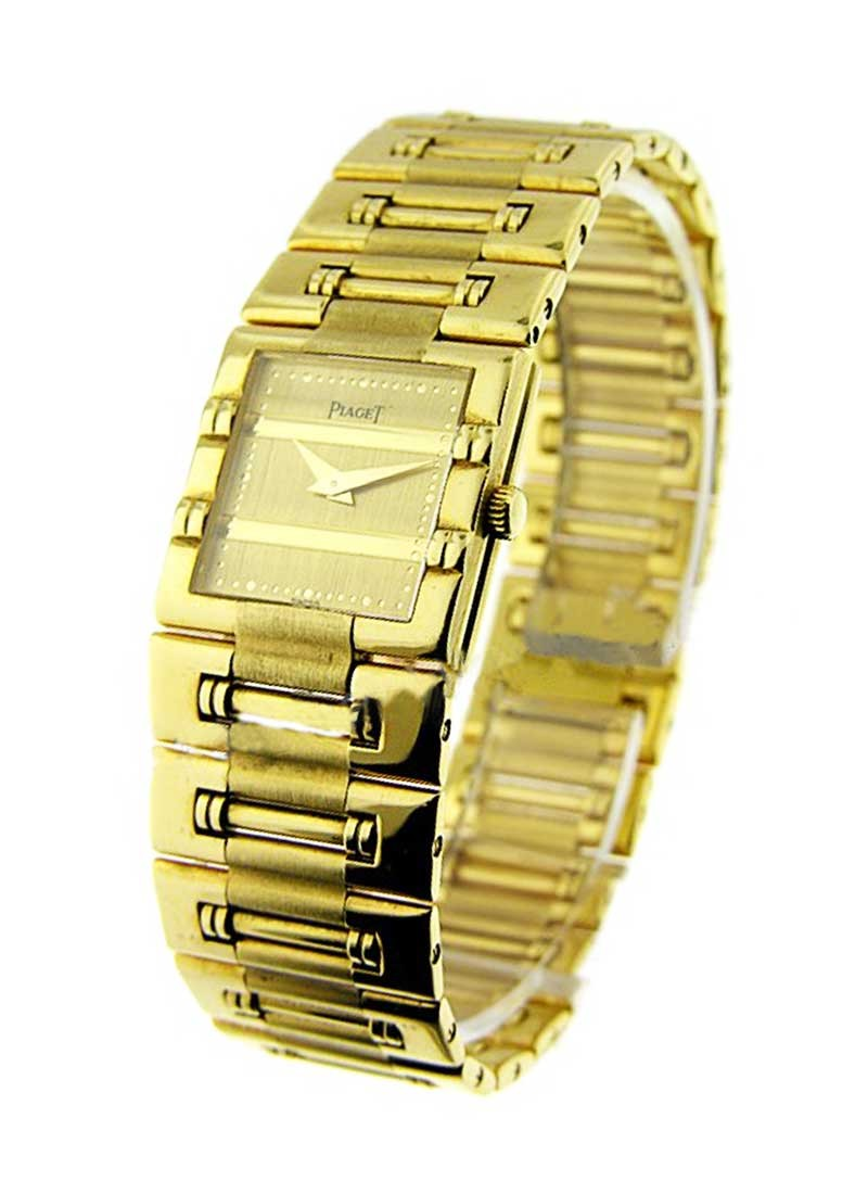 Piaget Lady's Square Dancer Mini Size in Yellow Gold