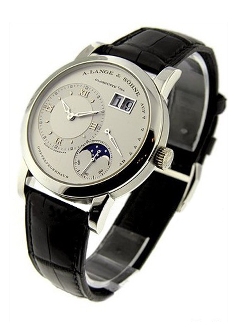 A. Lange & Sohne Lange 1 Moonphase Mechanical in Platinum
