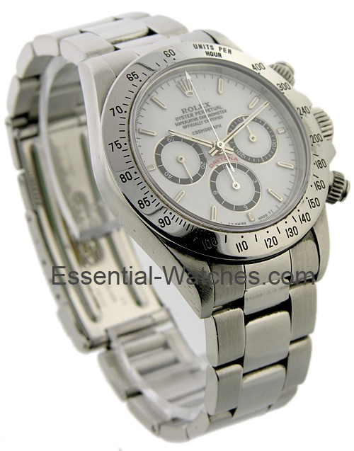 Pre-Owned Rolex Daytona Zenith Movement Ref 16520 with INVERTED 6 Dial