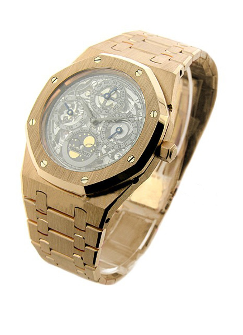 Audemars Piguet Royal Oak Skeleton Perpetual in Rose Gold