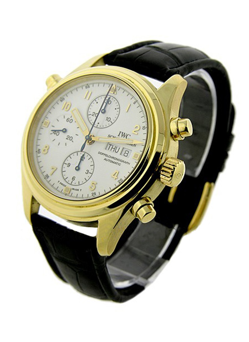 IWC Dopplechrono in Yellow Gold