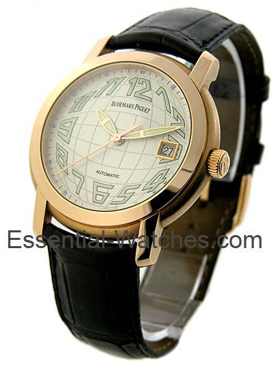 Audemars Piguet Jules Audemars The Globe in Rose Gold