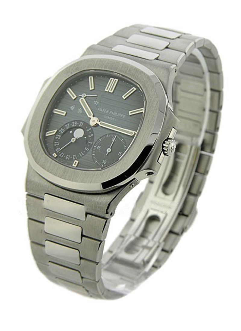 Patek Philippe Jumbo Nautilus Power Reserve 3712 in Steel