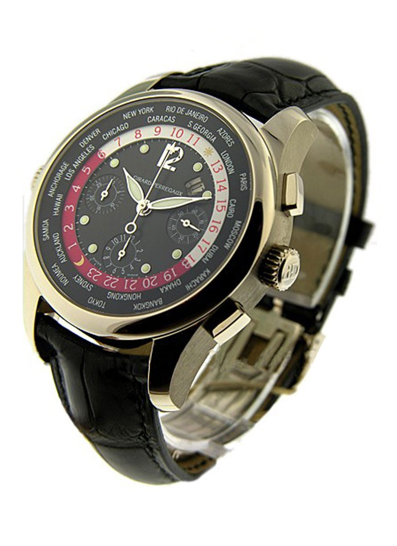 Girard Perregaux World Time Chronograph  WWTC