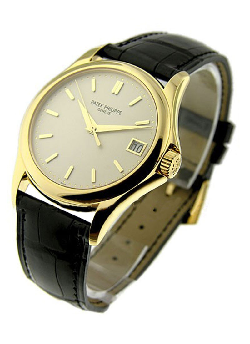 Patek Philippe 5127 Calatrava in Yellow Gold