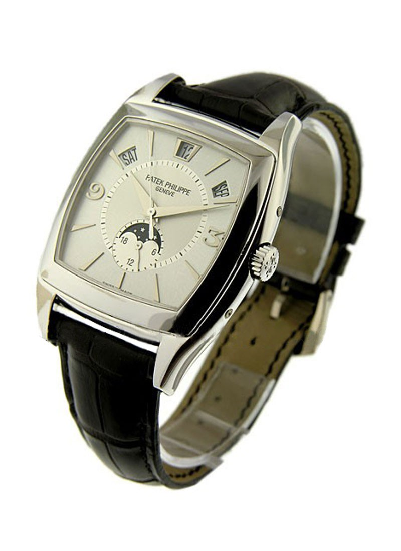Patek Philippe 5135G Calendario  Annual Calendar in White Gold