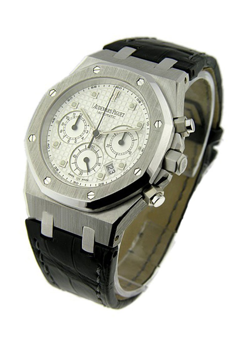 Audemars Piguet Royal Oak Chronograph Automatic in White Gold
