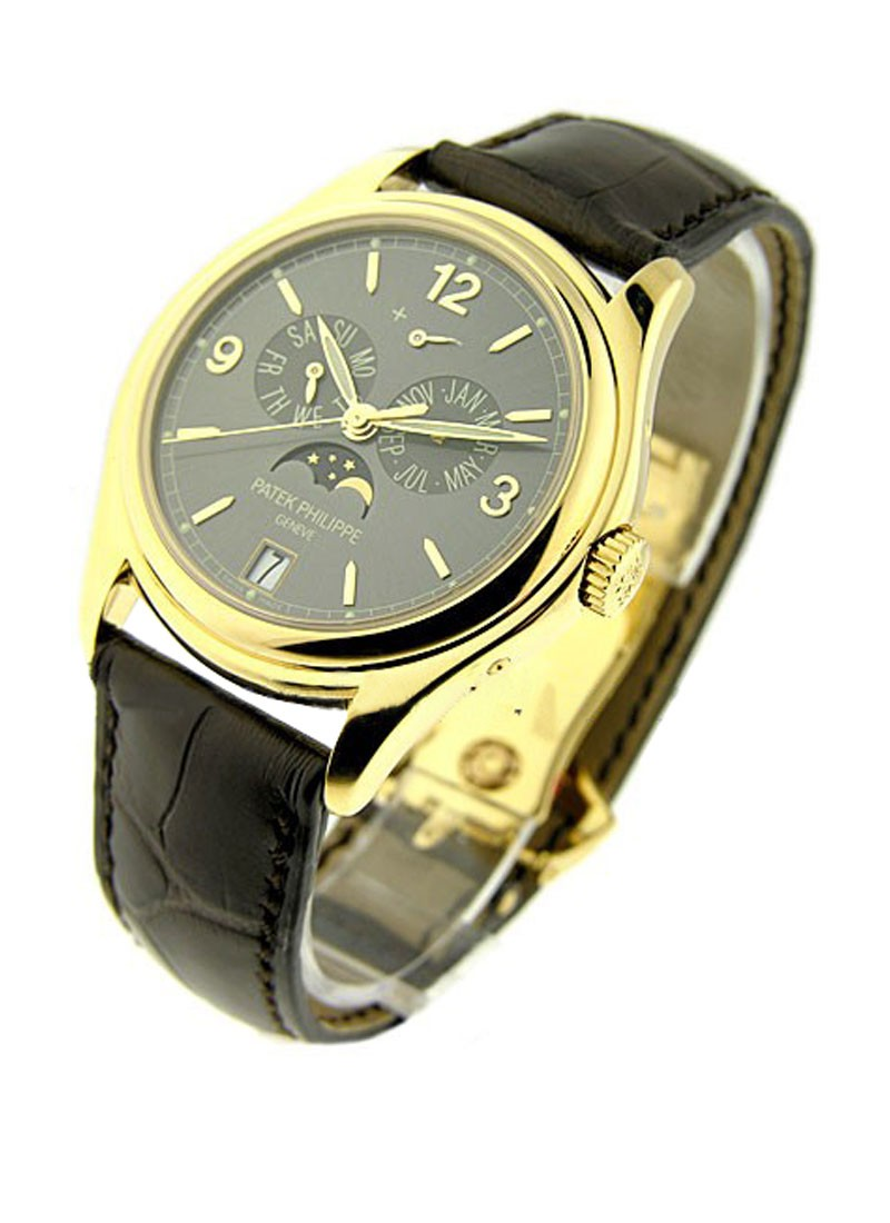 Patek Philippe 5146J Annual Calendar with Moonphase in Yellow Gold