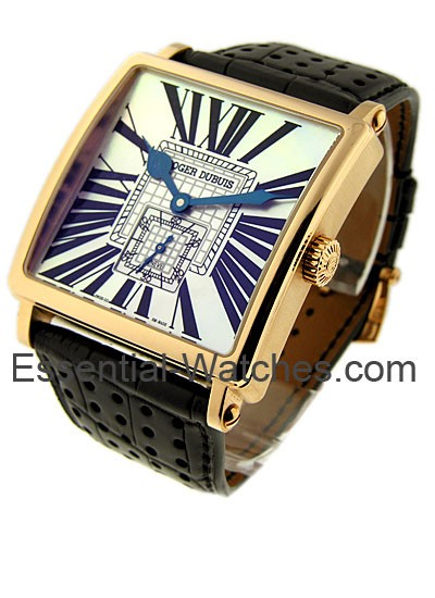 Roger Dubuis 43mm Golden Square in Rose Gold