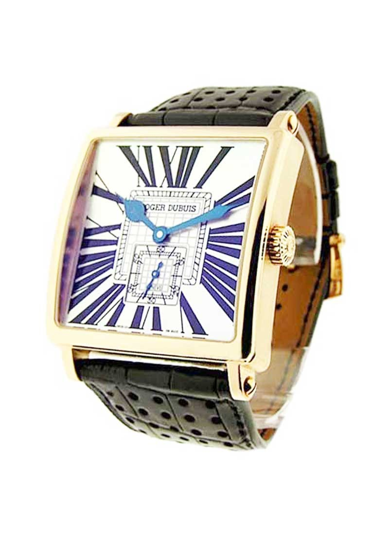 Roger Dubuis Golden Square 43mm Automatic in Rose Gold