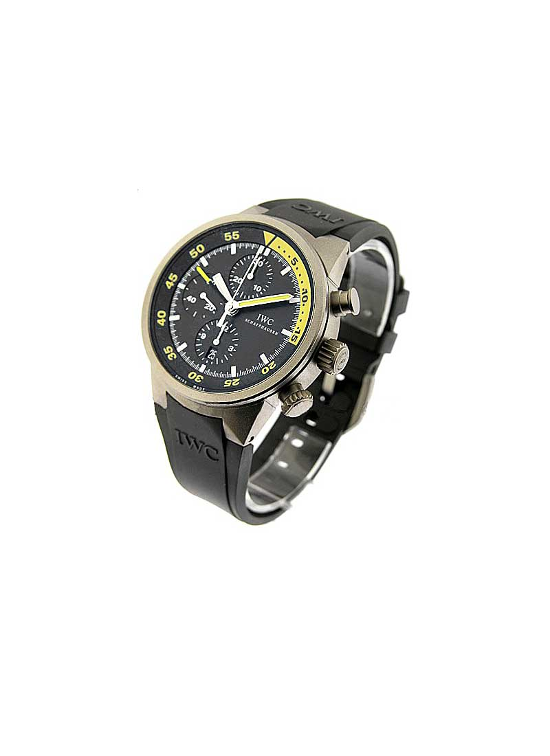 IWC Aquatimer Split Minute Chronograph 44mm in Titanium