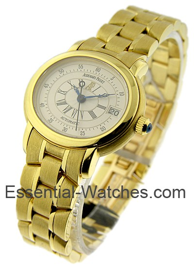 Audemars Piguet LADY'S MILLENARY 28mm Automatic in Yellow Gold