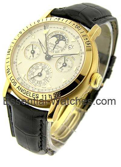 Audemars Piguet Equation of Time Moon Phase in Yellow Gold
