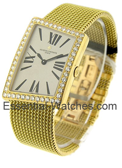 Vacheron Constantin 1972 ASSYMETRIC on BRACELET