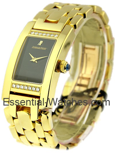 Audemars Piguet Promesse in Yellow Gold with 2 Bar Diamond Case