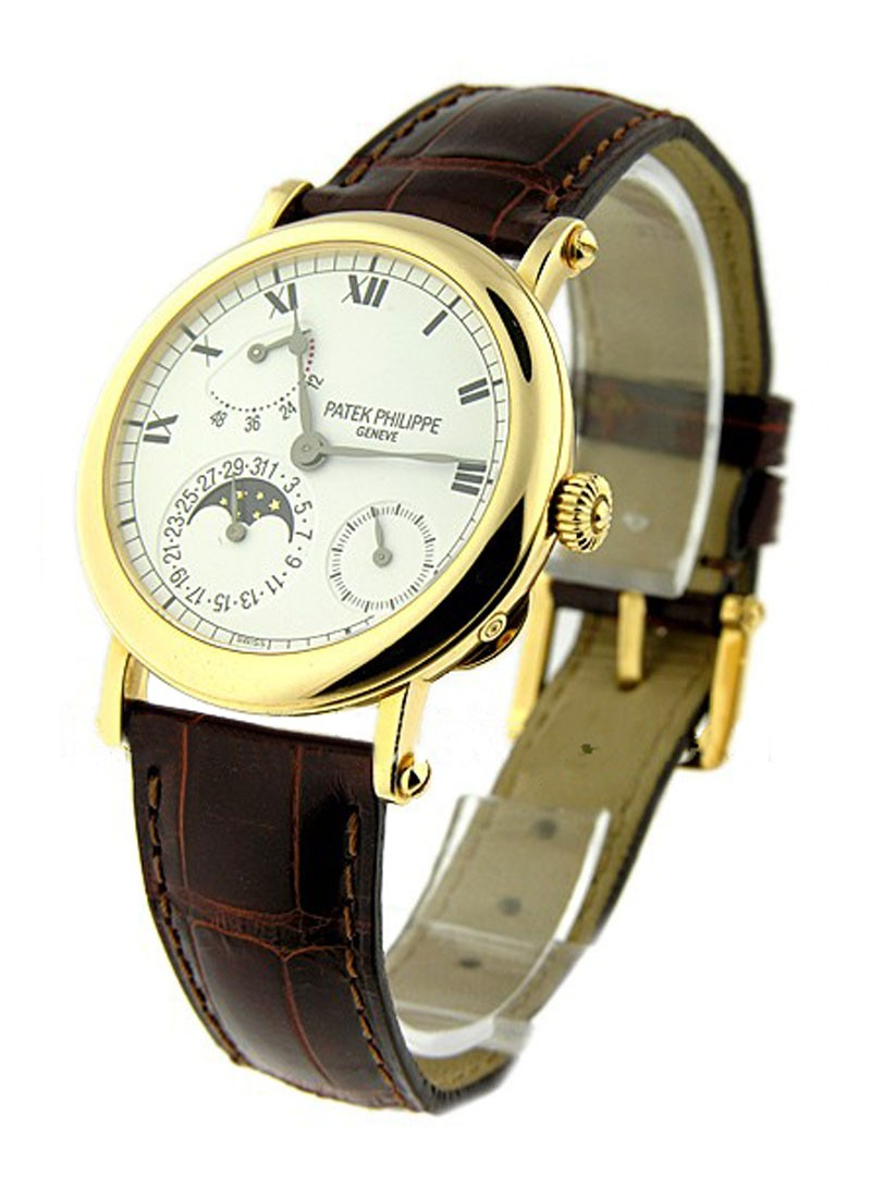 Patek Philippe 5054 Power Reserve Moon in Yellow Gold