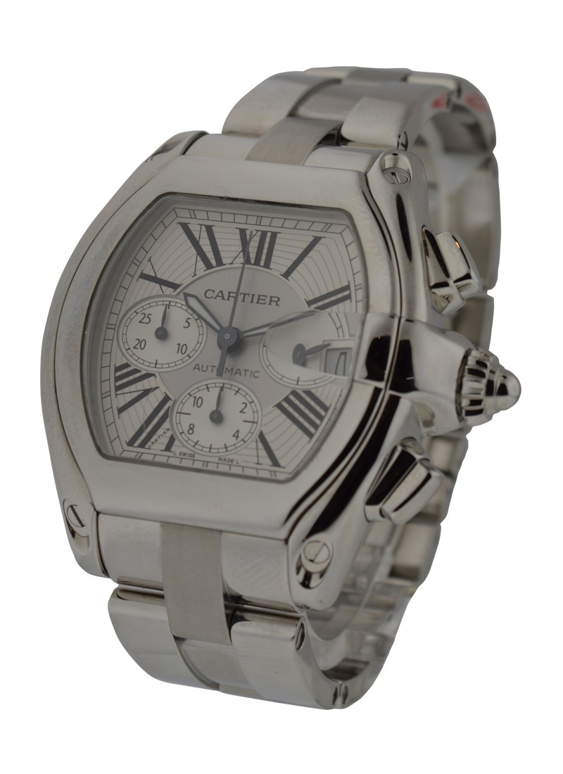 Cartier Roadster Chronograph in Steel