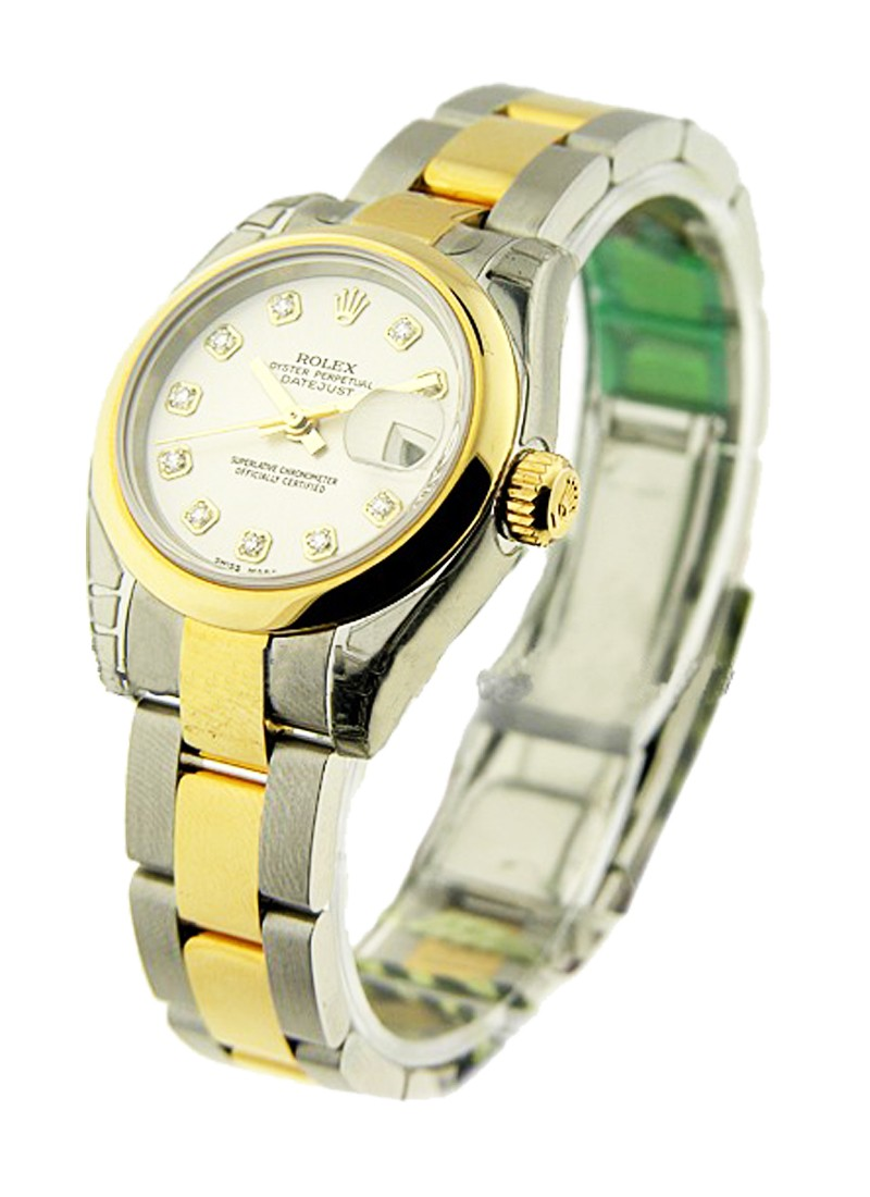 Rolex Unworn Datejust in Steel with Yellow Gold Smooth Bezel