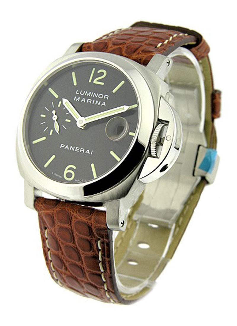 Panerai PAM 48   Luminor Marina 40mm Automatic in Steel
