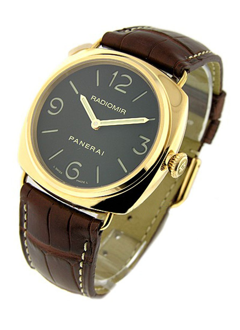 Panerai PAM 231 - Radiomir Base in Rose Gold