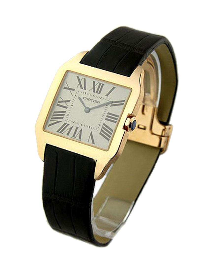 Cartier Santos Dumont in Rose Gold