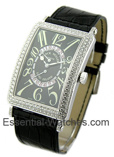 Franck Muller Long Island Bi-Retro with Diamond Case