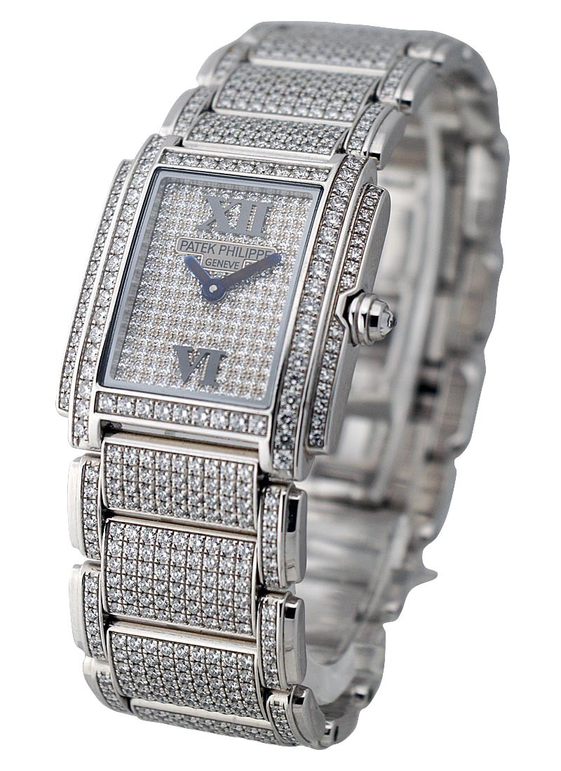 Patek Philippe Twenty 4  Full Pave Diamonds