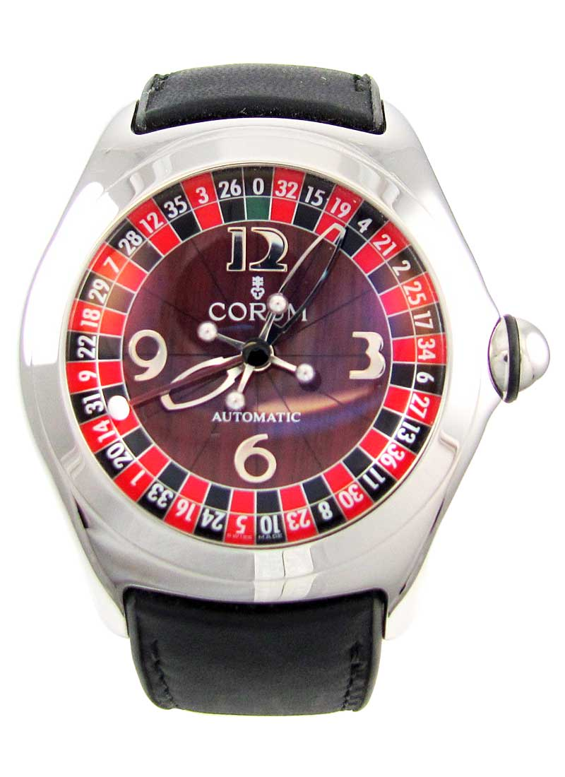 Corum Bubble Roulette Casino in Steel