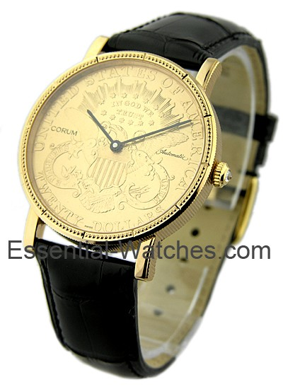 Corum $20 Gold Coin Watch -  Automatic