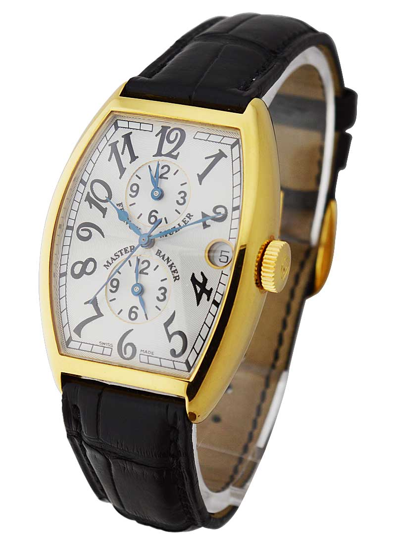 Franck Muller Master Banker 5850 in Yellow Gold